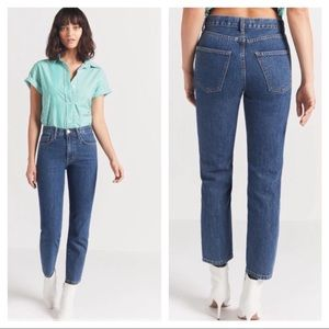 NEW Current/Elliott Vintage Cropped Jeans